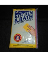 VINTAGE CADIE KITCHEN OVEN & BATH CLEANING AMAZING WIPES 12 CLOTHS IN PA... - $27.12