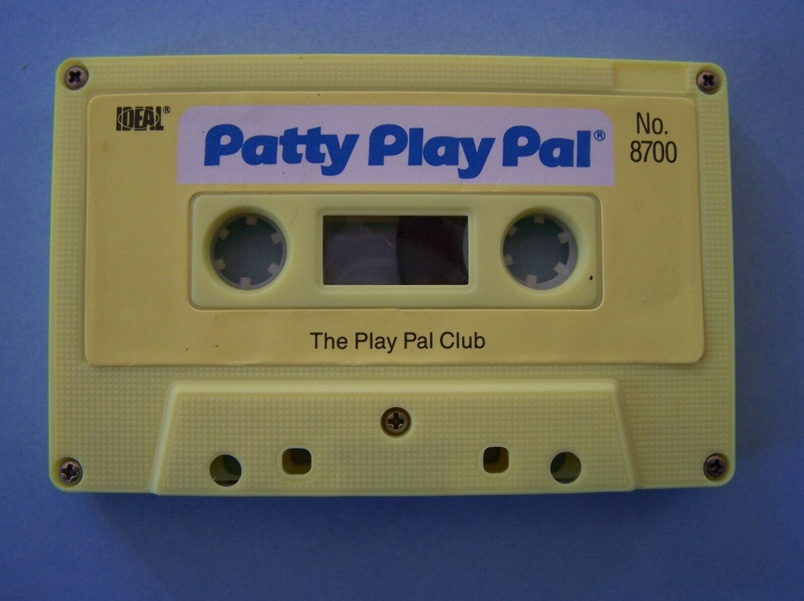 "Primary image for (2) 1987 IDEAL TALKING  24"" PATTY PLAYPAL WORKOUT PLAYPAL CLUB CASSETTE TAPES"