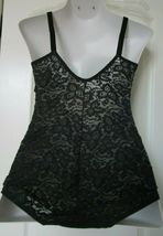 Bali Lace n smooth Bodybriefer Black Size 38D Style 8L10 image 3