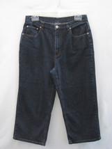 Additions Chico's Denim Blue Jean Capris Cropped Pants1 Misses 8 30/21 Blue - $24.74