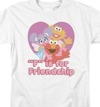 Elmo T-shirt Sesame Street Retro TV F is for Friendship graphic tee SST197 image 3