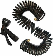 Vhccirt Coil Hose 50ft Recoil Water Hose Lead Free Drinking Water Safe S... - $29.68