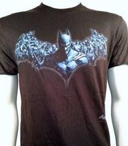 Batman Caballero Oscuro Logo Montaje DC COMICS Superhéroe Héroes Camiseta S-3XL - $20.89
