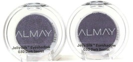 2 Count Almay 0.05 Oz Jelly Silk 030 Dark Secret Beautiful Elegant Eyeshadow - $18.99