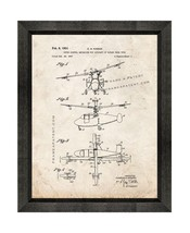 Rotor Control Mechanism For Aircraft Of Rotary Wing Type Patent Print Ol... - $24.95+