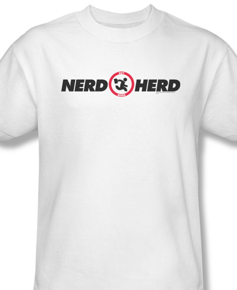 Nerd herd fictional computers geek electronics for sale online graphic tee wbt158 at