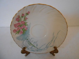 LENOX ROSE BOUQUET MOTHER'S DAY 1987 IVORY CHINA TEACUP SAUCER - $1.93