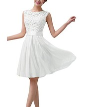 ZANZEA Women's Sexy Sleeveless Lace Cocktail Party Prom Slim A Line Shor... - $28.78