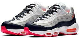 Nike Air Max 95 Laser ORANGE/NAVY Size 9 Brand New Fast Shipping (307960-405) - $113.55
