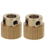 2-PCS Creality Brass Extruder Gear 40T for CR10 and ENDER 3 - $7.90