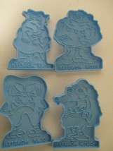Vintage Wilton Cookie Cutters Monsters 1990 - $12.00