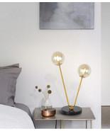 Nordic Post Modern Flos Glass Table/ Desk Lamp G9 Bulb Gold Finish Readi... - $185.22