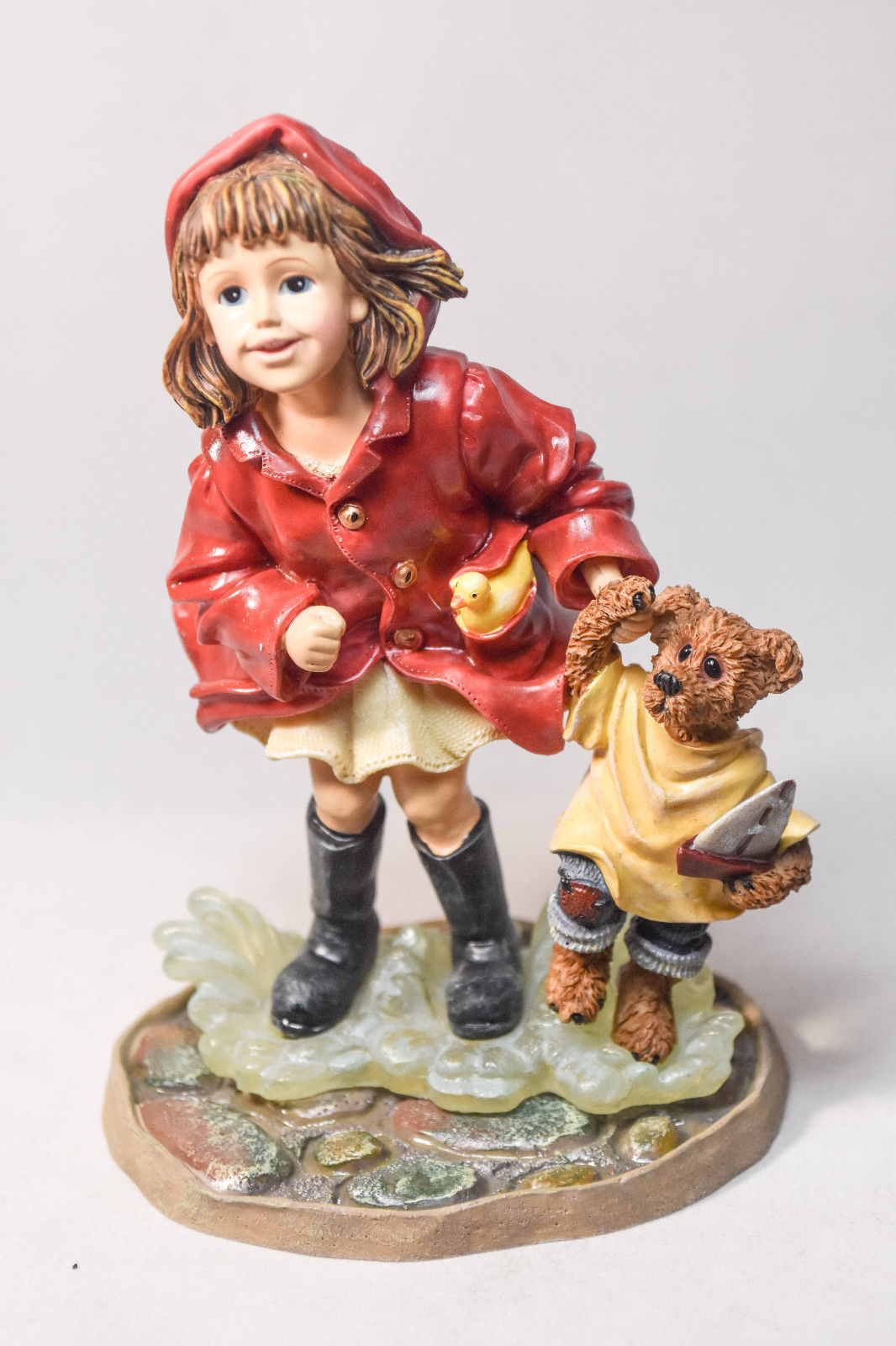 Boyds Bears: Brooke With Joshua - Puddle Jumpers - #3551 - 1st Edition - 1E/3304
