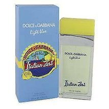 Light Blue Italian Zest Perfume By  DOLCE & GABBANA  FOR WOMEN  3.4 oz E... - $96.95
