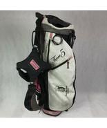 Sun Mountain Three 5 4 Way Golf Bag Pink White - $42.03