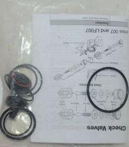 Watts Lead Free RK 007M3 RT 3/4 Total Valve Rubber Parts Repair Kit image 3