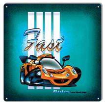 Lotus Sport Exige By Artist Bernard Oliver 12x12 - $25.74