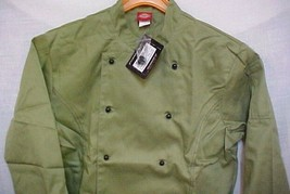 Dickies Chef Jacket Large CW070308CA Restaurant Economy Uniform Coat Cel... - $24.47