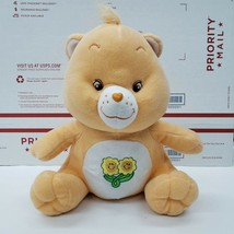 "Nanco 2003 Care Bear Plush 9"" Friend Bear Orange Teddy Stuffed Collectible - $11.87"