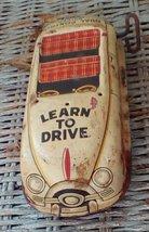 Vintage Marx Tin Learn To Drive Car.  Parts, Repair, Display.  Y-212 - $25.00