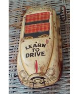 Vintage Marx Tin Learn To Drive Car.  Parts, Repair, Display.  Y-212 - $25.00