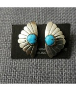 NEW  Sterling silver turquoise earrings - $18.81