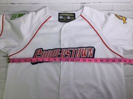Cooperstown All Star Village Youth XL MLB White Jersey Red Sox Green Monster #5 image 9