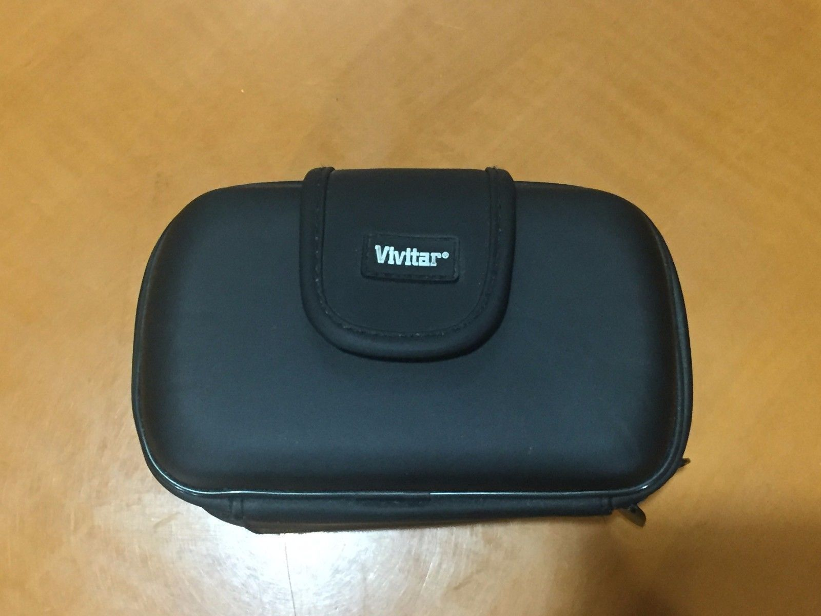 "Vivitar Black Hard Shell Camcorder Video Camera Case Bag 5.4x2.8x3.2"" - $5.93"