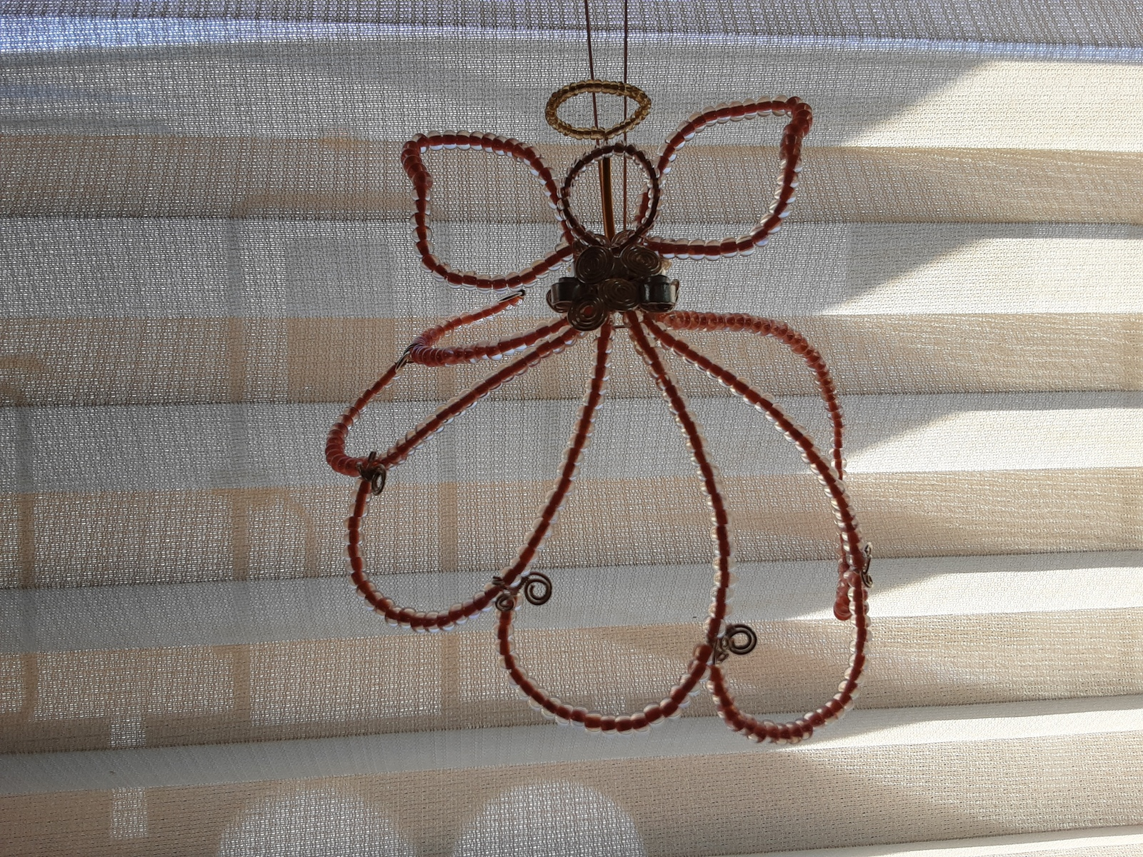Angel Sun-catcher Ornament (hand-crafted, one-of-a-kind) image 8