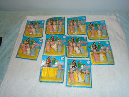 28 vintage christmas plastic angels unused in package 2 1/4'' - $29.69