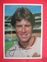 1981 TOPPS Jim Palmer 5 x 7 Collector Card Orioles - $5.93