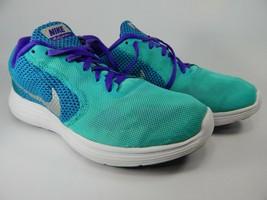Nike Revolution 3 Taille US 8 M (B) Ue 39 Femmes Chaussures Course Vert - $46.52