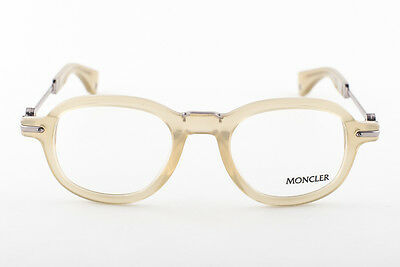 MONCLER MC512-V08 Transparent Yellow Eyeglasses MC 512-V08 image 2