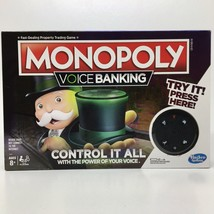 Hasbro Monopoly Voice Banking Electronic Family Board Game - never played - $14.49