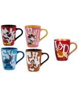 Disney Store Character Mug Mickey Minnie Chip Dale Stitch Lady Tramp 201... - $59.95