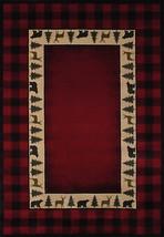 United Weavers Genesis Buffalo Red Crimson Area Rug 5'3'' x 7'6'' - $199.00