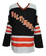 Marshall  8 baltimore blades retro hockey jersey black   1 thumbtall