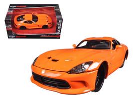 "2013 Dodge Viper GTS SRT Orange ""Modern Muscle"" 1/24 Diecast Model Car b... - $39.95"