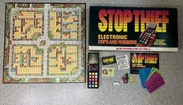 STOP THIEF Electronic Cops & Robbers Vintage Board Game Parker Brothers ... - $49.49