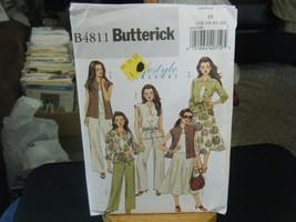 Butterick B4811 Misses Top, Skirt & Pants Pattern - Size 16/18/20/22 - $6.72