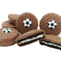 Philadelphia Candies Milk Chocolate Covered OREO® Cookies, Soccer Gift 8 Ounce - $15.79