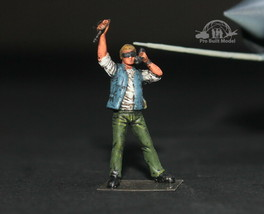 US Navy Deck crew 1:72 Pro Built Model #3 - $7.91