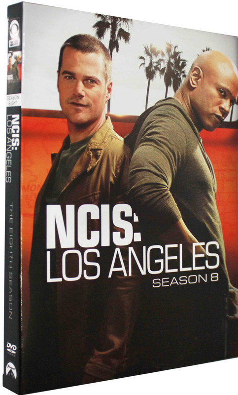 NCIS: Los Angeles The Complete Eighth Season 8 DVD Box Set 6 Disc Free Shipping