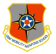 USAF Mobility Weapons School 12'' Sticker - $24.74