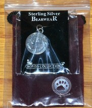 Boyds Sterling Silver Bearwear 25th Anniversary Coin 191022 - $18.37