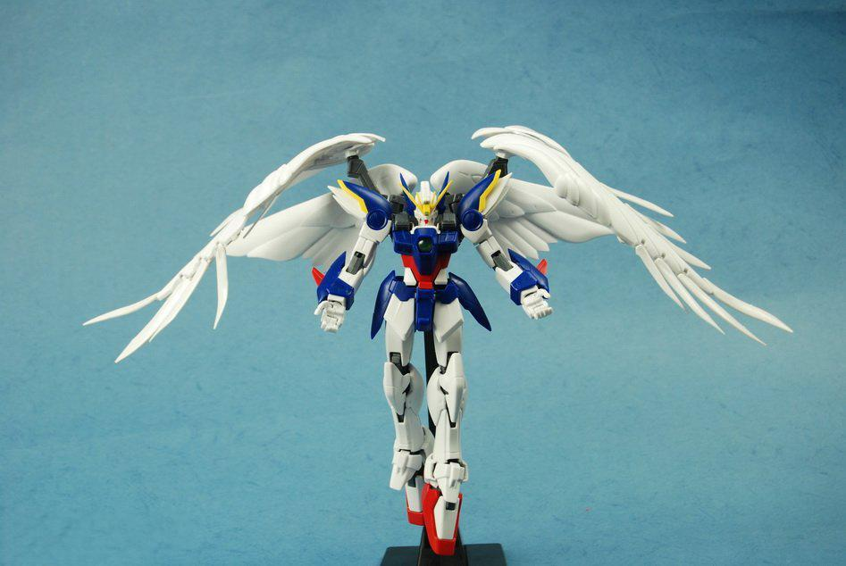 GAOGAO 028 Gundam model MG 1/100 XXXG-00W0 Wing fighter zero Mobile Suit kids to