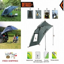 MultiFuction Camping-Beach Waterproof GREY Canopy/Sun Shelter /Sedan SUV... - $146.06