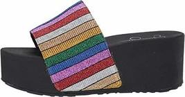 Jessica Simpson Women's Faille Sandal, Multi, 7 M US - $45.56