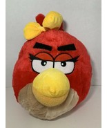 Angry Birds red girl yellow bow plush backpack bag Rovio Entertainment s... - $9.89
