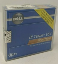 """DELL DL Ttape VS1 80GB/160GB Use with all DLT VS160 drives, New, 1/2"""" Data Tape - $52.02"""